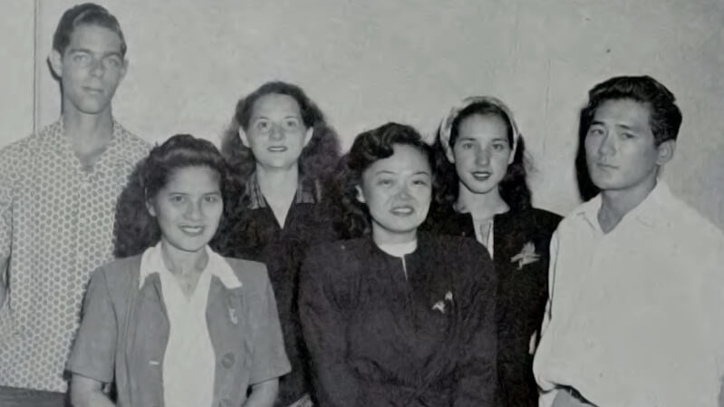1948 University of Hawaii Oratorical Contest finalists