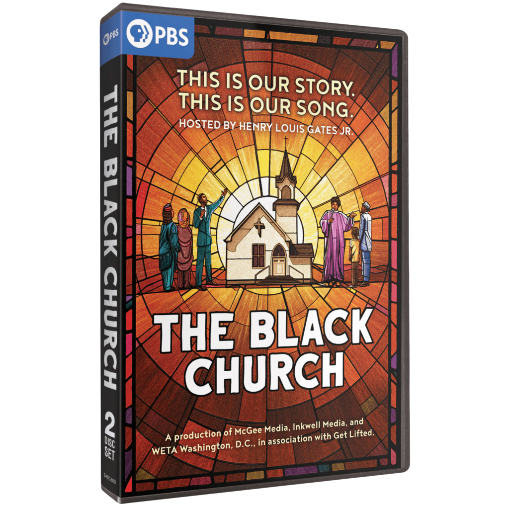DVD Cover of PBS The Black Church series