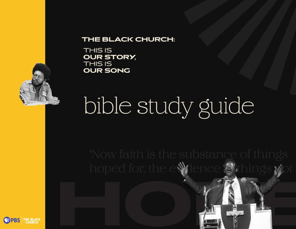 The Black Church Bible Study Guide