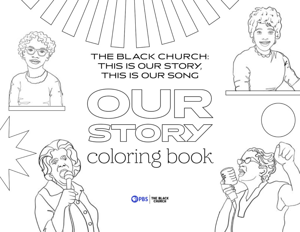 The Black Church Our Story coloring book