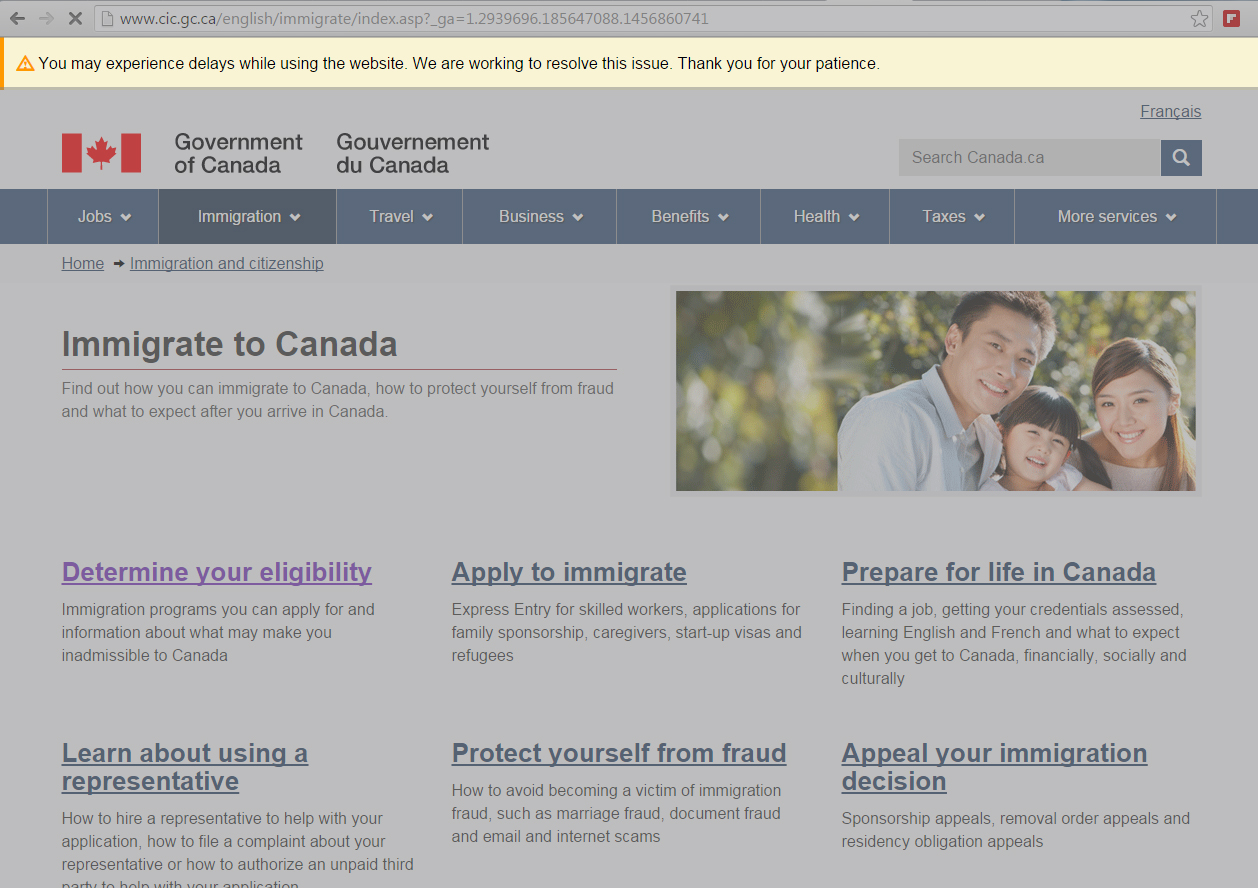 The Canadian Immigration Website Experienced Delays During The Height Of  Super Tuesday Searches