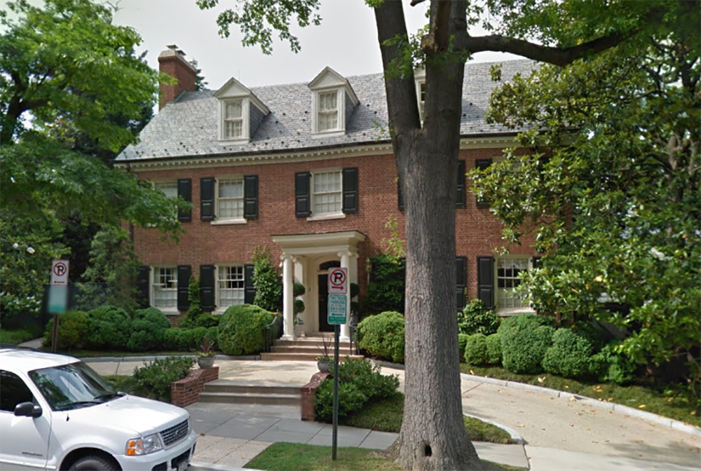 211 Houses Like The One In Washington Dc Owned By Bill And Hillary Clinton