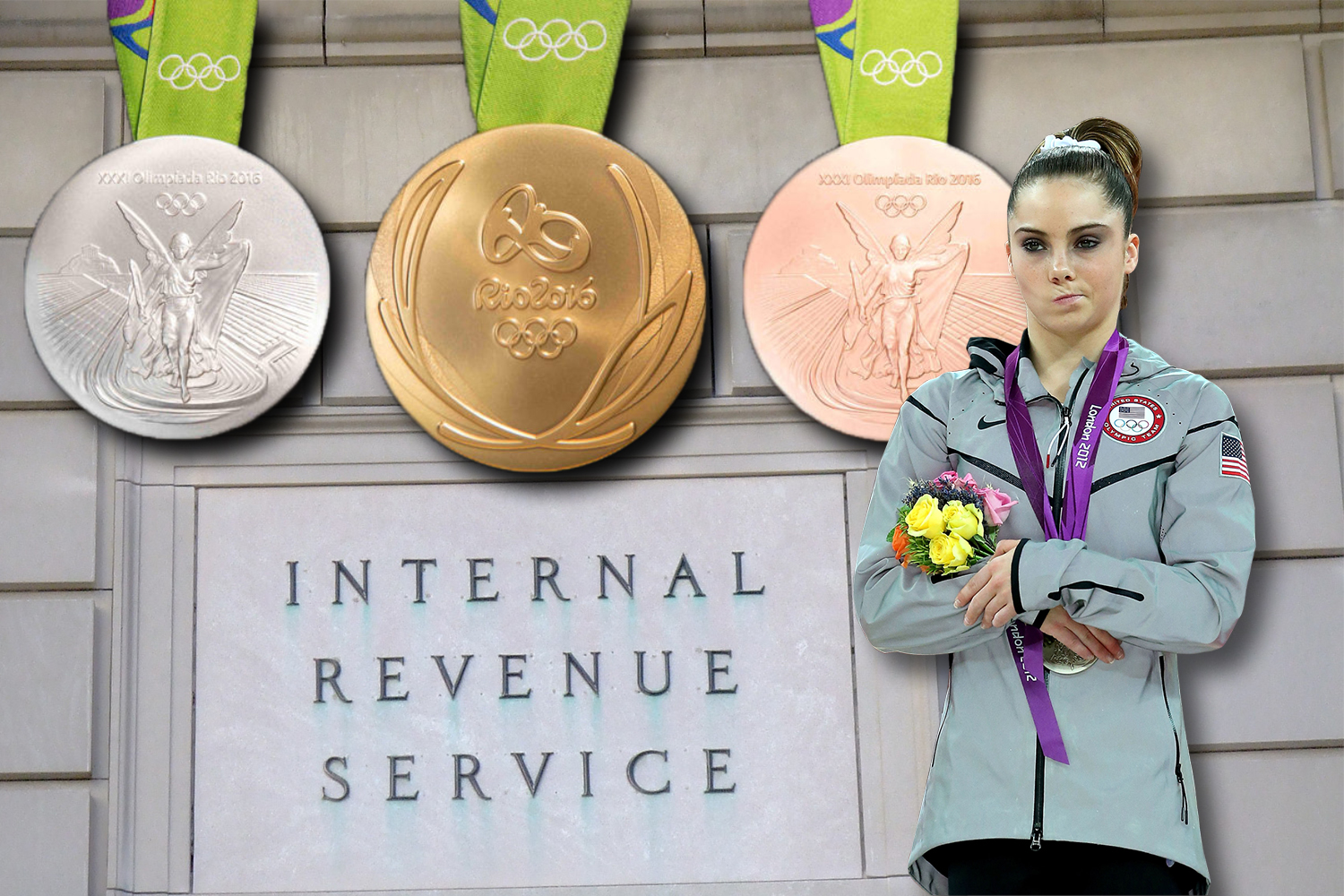 Do olympians win money with their medals america