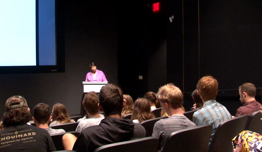 Gwen Ifill talks politics and media at Colorado College  Washington