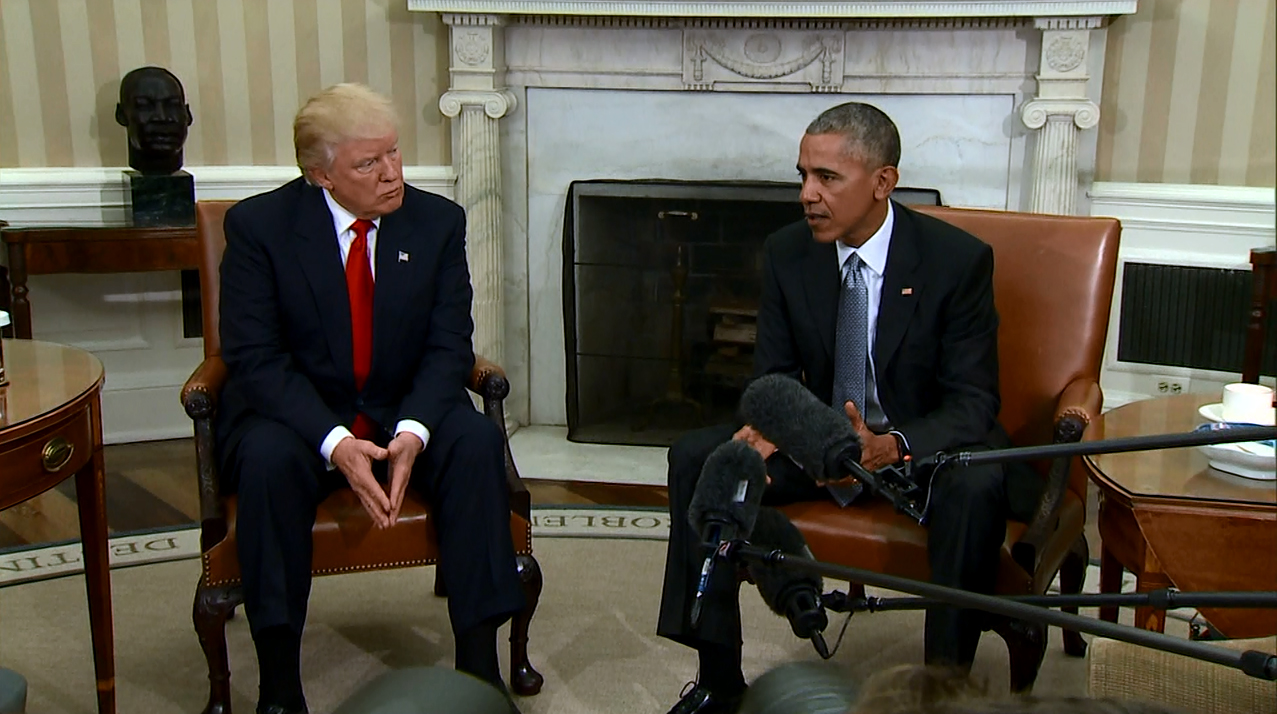 trump expresses frustration with obama s policies washington week