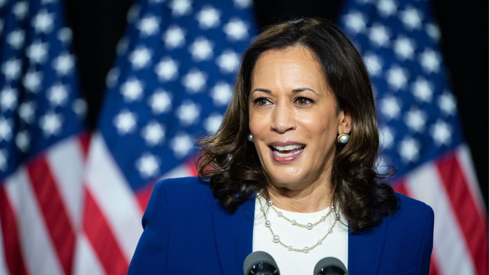 Kamala Harris takes on President Trump