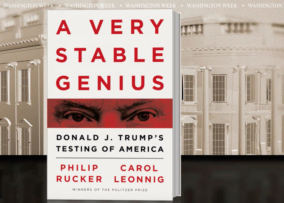 """Discussing """"A Very Stable Genius"""" with Carol Leonnig"""