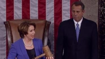 Reps. Nancy Pelosi and John Boehner
