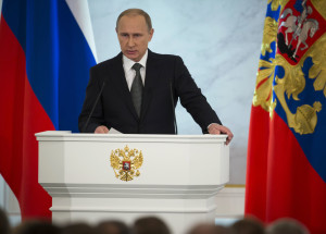 Putin Remains Defiant As Russian Economy Wavers