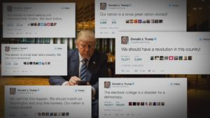 WATCH: For Trump, Romney's Loss Fueled a Tweetstorm. Then, a Trademark.