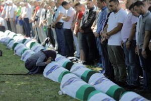 On the 24th Anniversary of the Srebrenica Massacre, Bosnian Muslims Continue to Bury Their Dead