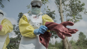 WATCH: Fighting Ebola in a Congolese War Zone
