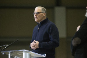 """""""We've Got to Double Our Efforts"""": WA Gov. Inslee Warns Against Reopening Too Early"""
