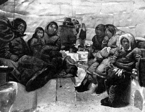 The igloo inuit for Interieur igloo