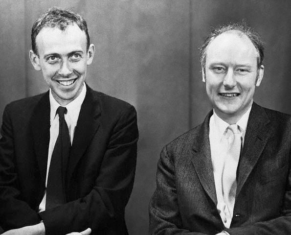 dna watson and crick Francis h c crick (1916-2004) and james d watson (1928-) discover that the  chemical structure of deoxyribonucleic acid (dna) meets the unique.