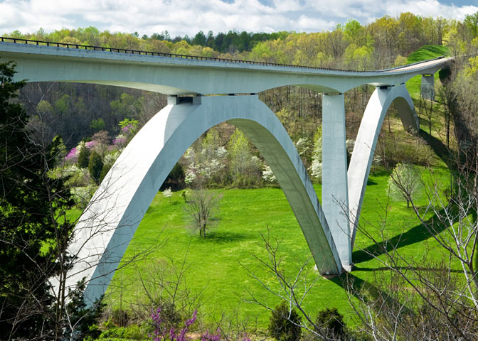 The Natchez Trace Parkway Bridge