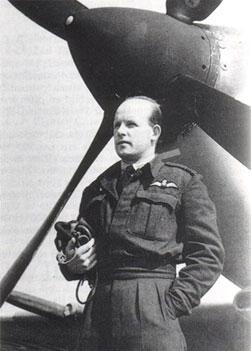 Bram van der Stok in his RAF uniform Enlarge Photo credit: Courtesy of