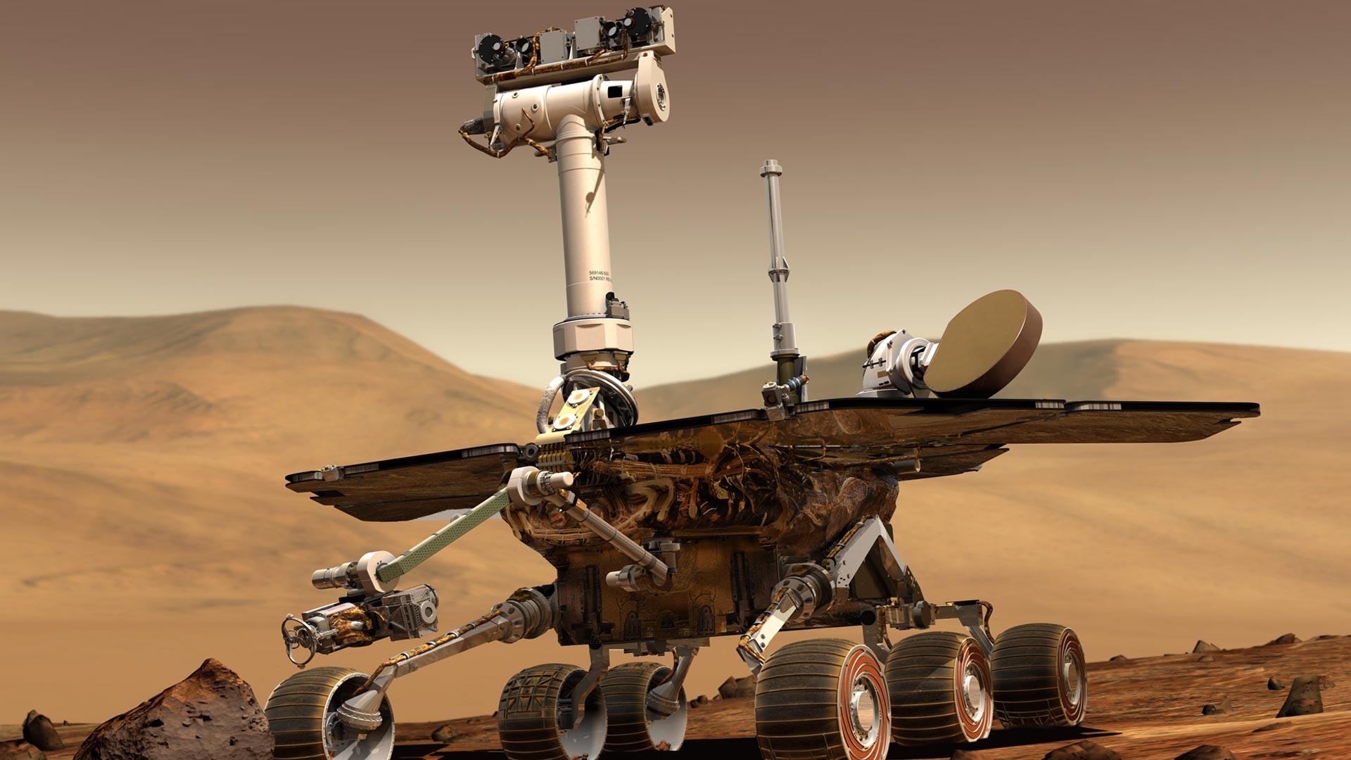 NOVA  Official Website  Anatomy of a Mars Rover