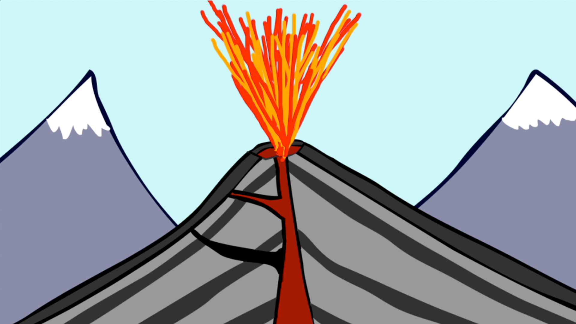 Anatomy Of A Volcano Worksheet - Karibunicollies