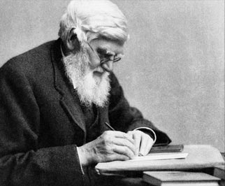 Alfred Wallace writing
