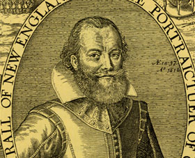 engraving of John Smith