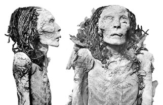 mummy of Queen Nofretari