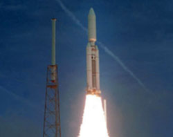 launch of Defense Support Program early-warning satellites