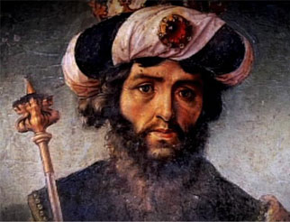 Painting of King David