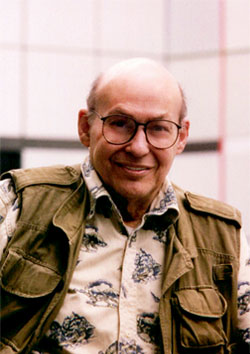 A portrait of Marvin Minsky.