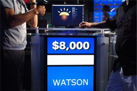 Watson, the Jeopardy champion computer.