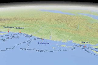 NOVA Official Website If Polar Ice Vanished - Map of us if polar caps melt