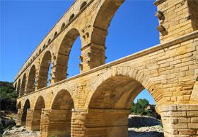 Pont du Gard Roman aqueduct
