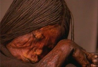 Inca mummy criança