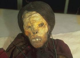 Inca múmia Juanita