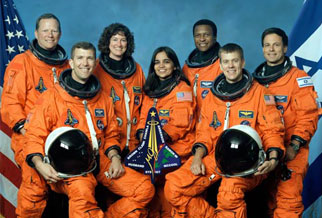 Crew of Space Shuttle Columbia