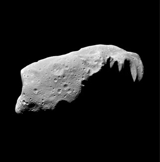 A small asteroid called Ida