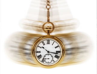 swinging pocket watch