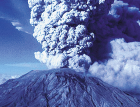 Mt. St. Helens releases ash plume
