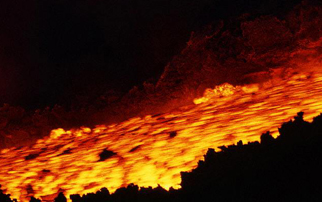 lava flow Mt. Etna