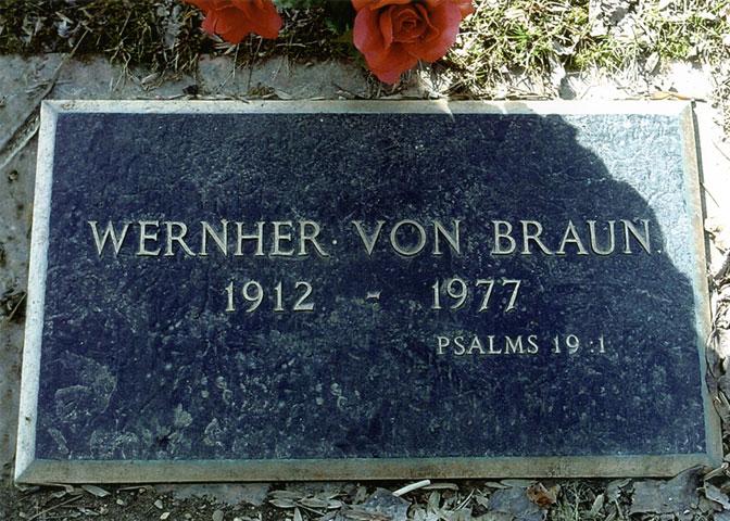 Resultado de imagen para werner von braun salm 19 dead