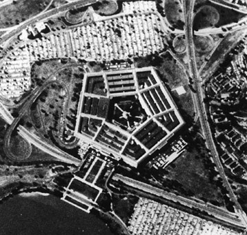 1967 Corona photograph of Pentagon