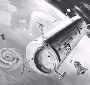 Drawing of Manned Orbiting Laboratory