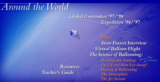 Balloon Race Around The World (see bottom of page for text navigation links)