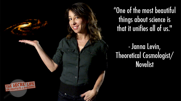 Words of Wisdom from Janna Levin