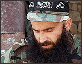 Shamil Basayev, Chechen rebel leader.