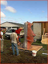 Photo of Moai mold