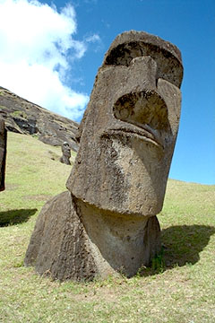 Photo of Moai