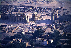 Ramesseum from air