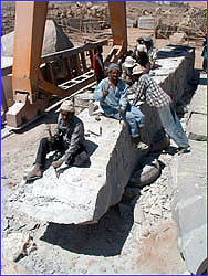 Shaping the Obelisk