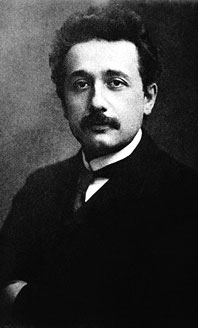 Einstein in 1905